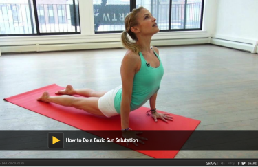 How To Do a Basic Sun Salutation