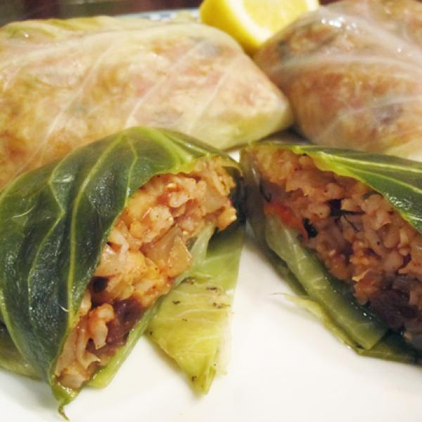 Dolmas (Stuffed Cabbage)