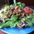Tempeh Taco Salad with Guacamole