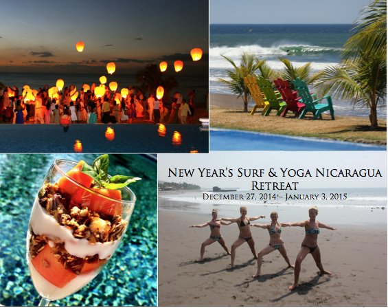 New Year's Surf & Yoga Retreat to Nicaragua!