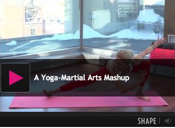 Yoga Martial Arts Mash-Up Video Routine