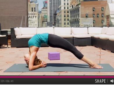 SBS Yoga Pose Breakdown Dwi Pada Viparita Dandasana