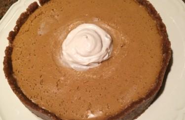 Best Ever No-Bake Pumpkin Pie!